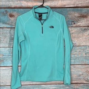 The North Face Turquoise Pullover Sweatshirt Small